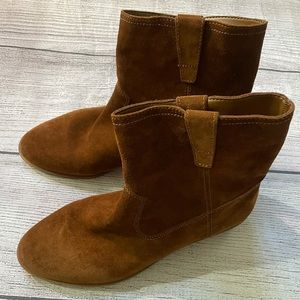 REBECCA MINKOFF Boho Style Brown Suede boot 7.5